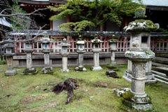 Stone Lanterns Nara, Japan Stock Images