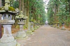 Stone lanterns Stock Photos