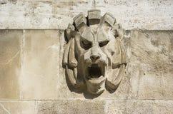 Stone lion Royalty Free Stock Image