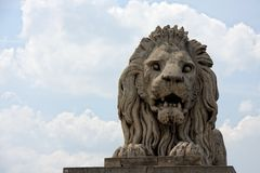 Free Stone Lion Stock Photo - 13193260