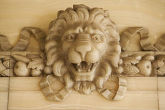 Stone Lion royalty free stock images