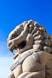 Stone lion Royalty Free Stock Photos