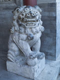Stone lion. Chinese stone carving stone lion manual Royalty Free Stock Photography