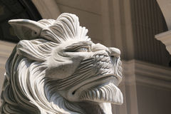 Stone lion Stock Image