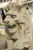 The stone lion At the government gate Stock Image