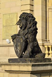 Stone lion of Koenigsberg Royalty Free Stock Images