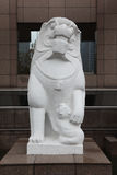 Stone lion sculpture 4. Stone lion sculpture in china Stock Photography