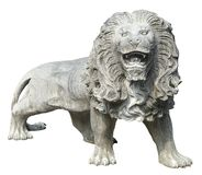 Stone Lion sculpture Stock Photos