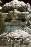 Stone lions Stock Photo