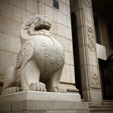 Stone lions Royalty Free Stock Photo