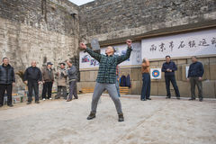 Stone lock players Royalty Free Stock Images