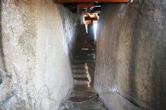 Stone lodge Stock Image