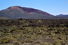 Stone  los volcanes lanzarote Stock Photos