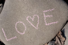Stone love Stock Photo