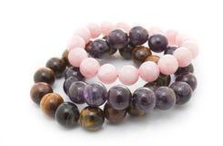 Stone lucky bracelet Royalty Free Stock Photography