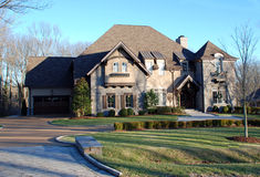 Stone Luxury Home 52 Royalty Free Stock Photography