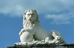 stone lwa Obraz Royalty Free
