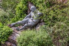 Stone male monument. /male monument/monument Royalty Free Stock Photo