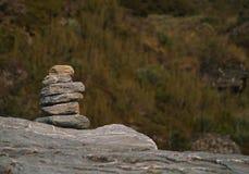 Stone man Stock Image