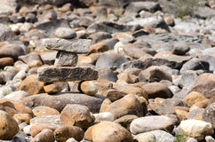Stone man Royalty Free Stock Image