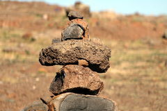 Stone man Royalty Free Stock Photography