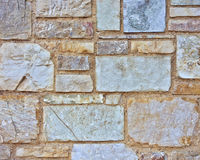 Stone and marble wall closeup Royalty Free Stock Photography