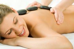 stone masaż. Obrazy Royalty Free