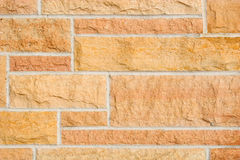 Stone Masonry - horizontal Royalty Free Stock Image