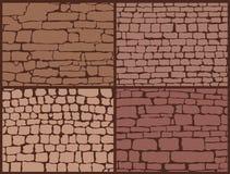 Stone masonry set Stock Image