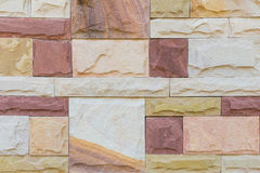 Stone masonry wall Stock Images