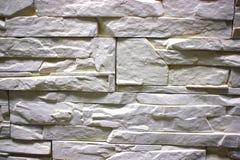 Stone masonry wall as background, stone  texture. Gray shade of aging Royalty Free Stock Photos