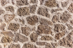 Stone masonry wall as background. Stone wall texture Royalty Free Stock Images
