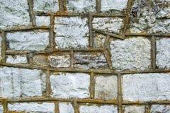 Stone Masonry Wall – Horizontal Background Stock Photography