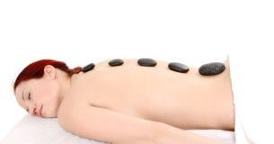 Stone massage Stock Image
