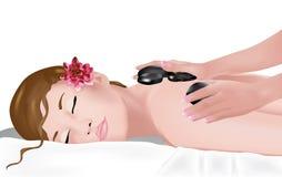 Stone massage 2 Stock Image