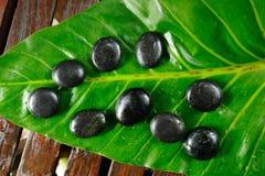 Stone massage Royalty Free Stock Image