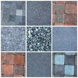 Stone material Stock Images