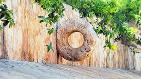 Stone Mayan hoop Stock Image