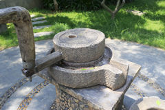 Stone mill Royalty Free Stock Image