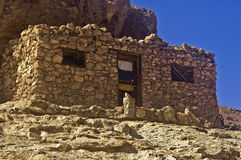 Stone Mining Shack. This is a picture of a stone mining shack from Calico, California, a ghost town and San Bernardino County park Royalty Free Stock Photos