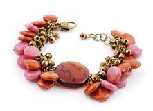 Stone mix bracelets Stock Photography