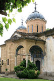 Stone monastery in Bulgarian mountains Stock Photography