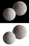 Stone Moon Spheres Stock Photography