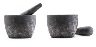 Stone mortar Rustic and coarse appearance. royalty free stock photo