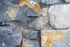 Stone and Mortar Texture Royalty Free Stock Photo