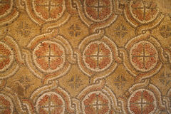 Stone mosaic. Antique stone mosaic background pattern Stock Image
