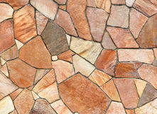 Stone Mosaic Background. Texture brown stock photo