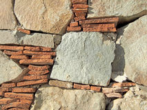 Stone mosaic. Royalty Free Stock Photo
