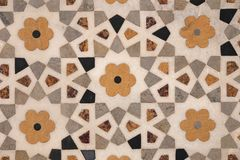 Stone mosaic Royalty Free Stock Images