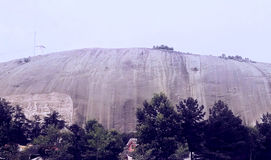 Stone Mountain Imagen de archivo libre de regalías